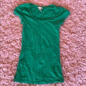 Your basic, green tee.